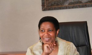 Phumzile Mlambo-Ngcuka Executive Director of the UN Entity for Gender Equality and Empowerment of Women.