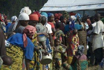 Congoleses en Uganda<br>Foto: L.Beck