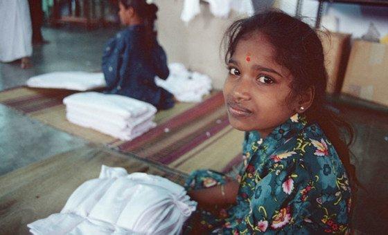 Жертвы современной работорговли подвергаются трудовой эксплуатации. Фото: МОТ