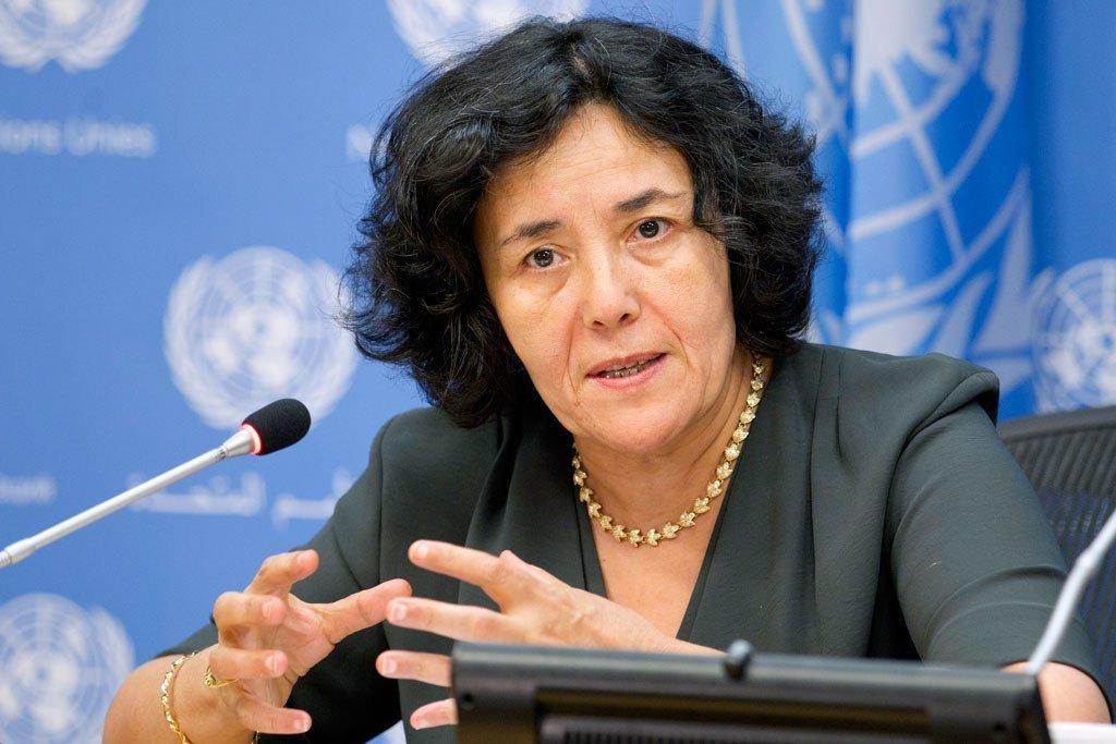 Leila Zerrougui, Représentante spéciale du Secrétaire général pour la République démocratique du Congo (archives)