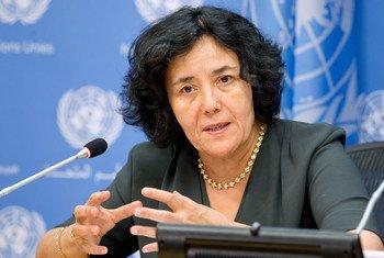 La Représentante spéciale du Secrétaire général en RDC, Leila Zerrougui.