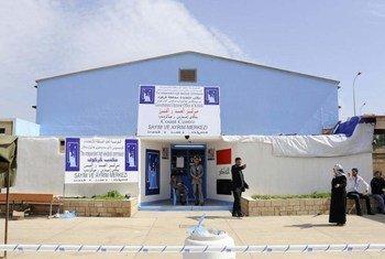 Le Bureau gouvernemental des élections à Kirkouk, en Iraq. Photo ONU/Rick Bajornas