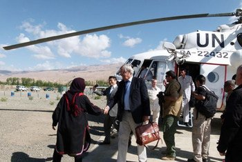 Deputy Special Representative for the Secretary-General for Political Affairs Nicholas Haysom arrives in the region on an official visit.
