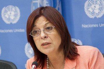 La embajadora de Argentina ante la ONU, Maria Cristina Perceval  Foto: ONU/Rick Bajornas