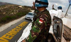 Des Caques bleus de la Force intérimaire des Nations Unies au Liban (FINUL). Photo : FINUL