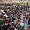 La ciudadanía ha mostrado su inconformidad en Guatemala. Foto de archivo: Rolando Alfaro, ACNUR