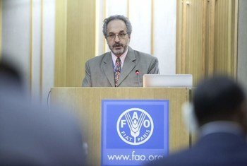 Food and Agriculture Organization (FAO) Chief Veterinary Officer Juan Lubroth.