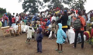 Deteriorating security in Central African Republic (CAR) forced UNHCR to relocate CAR refugees from the border area of Worobe in DRC to the new camp of Mole, 35 kilometers from the border.