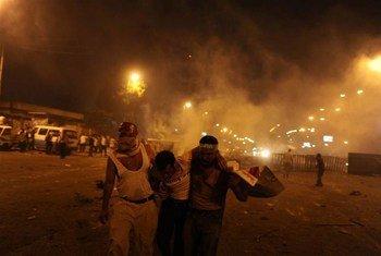 Protestas en El Cairo (Foto de archivo: Saeed Shahat)