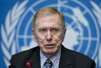 Michael Kirby, Chairman of the Commission of Inquiry on Human Rights in the Democratic People's Republic of Korea (DPRK).