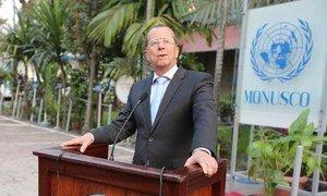 Special Representative and head of the UN Organization Stabilization Mission in the DRC (MONUSCO) Martin Kobler. Photo MONUSCO/Myriam Asmani