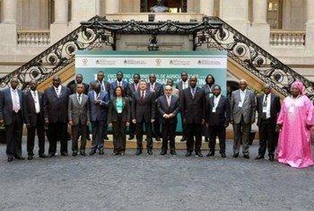Les Ministres de l'agriculture des pays sub-sahariens et de l'Argentine, à Buenos Aires.