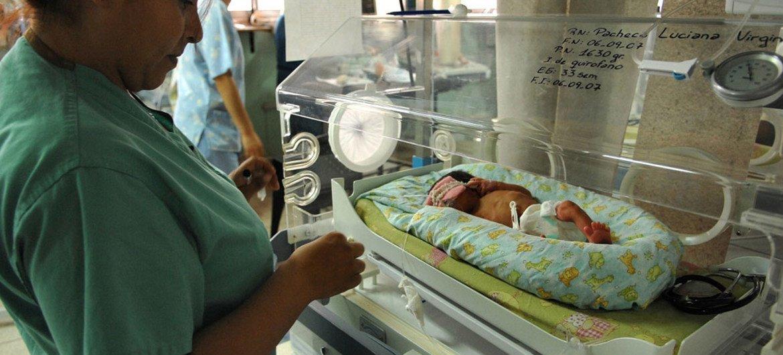 减少儿童死亡率是可持续发展目标之一。