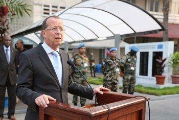 Le Représentant spécial du Secrétaire général pour la République démocratique du Congo (RDC), Martin Kobler.