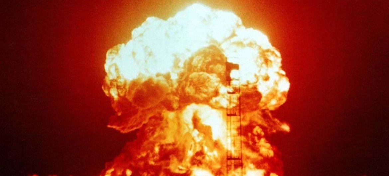 美国核试验资料图片