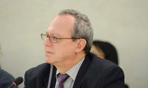 Frank La Rue, Special Rapporteur on the promotion and protection of the right to freedom of opinion and expression.