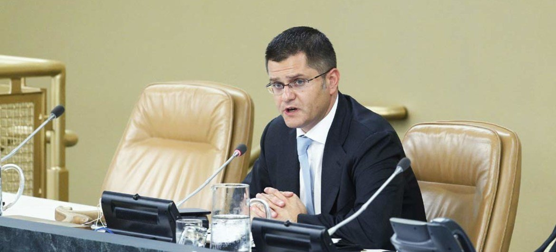 General Assembly President Vuk Jeremic.