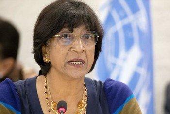 La Alta Comisionada de la ONU para los Derechos Humanos, Navi Pillay  Foto:  ONU/Jean-Marc Ferré