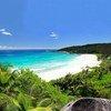 La isla de Digue en las Seychelles.