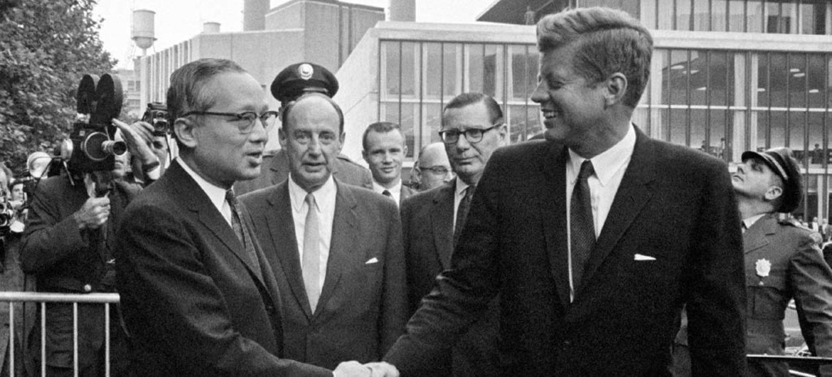 UN marks 50th anniversary of JFK's final address to General