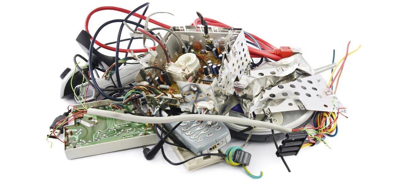 Déchets électroniques. Photo UIT
