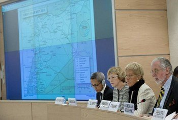 Los integrantes de la Comisión Investigadora para Siria Foto archivo :ONU/Jean-Marc Ferré)