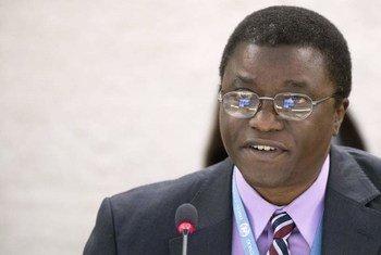 Le Rapporteur spécial des Nations Unies sur les droits des personnes déplacées, Chaloka Beyani.