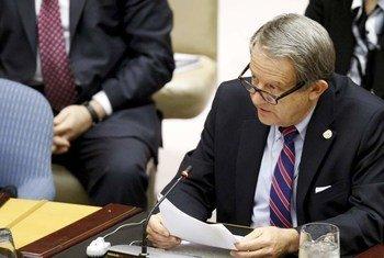 Le Représentant exécutif du Secrétaire général de ce pays devant le Conseil de sécurité, Anders Toyberg-Frandzen.