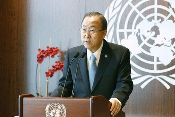 Secretary-General Ban Ki-moon issues statement on the terrorist attack at the Westgate Mall in Nairobi, Kenya.