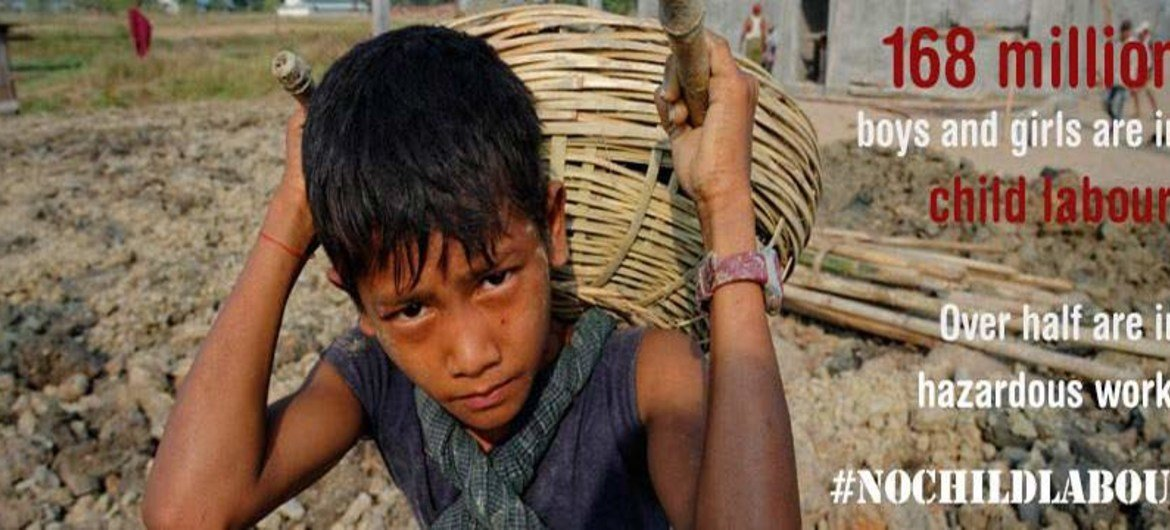 fight against child labour moving in right direction but not