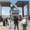 Paso de Rafah, entre Egipto y Gaza  Foto:  IRIN/Ahmed Dalloul