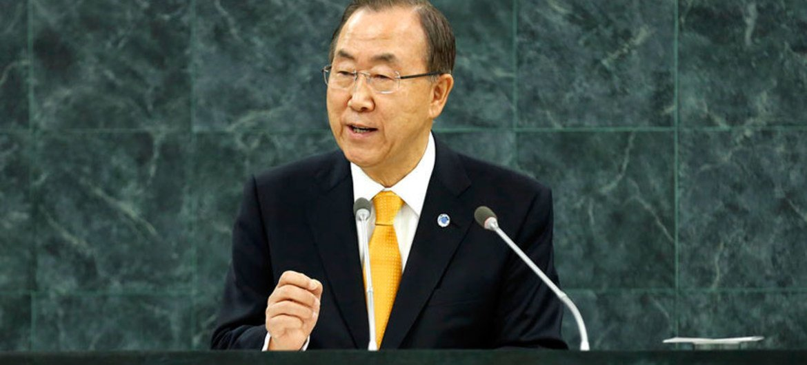 Secretary-General Ban Ki-moon presents to the Assembly his annual report on the work of the Organization.