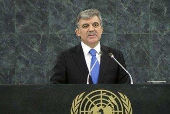 Le Président de la Turquie, Abdullah Gül.