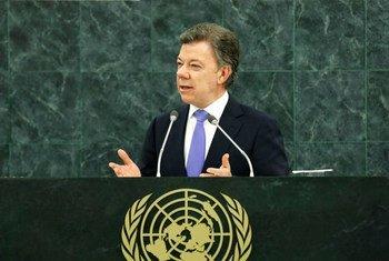 President Juan Manuel Santos Calderon of Colombia.