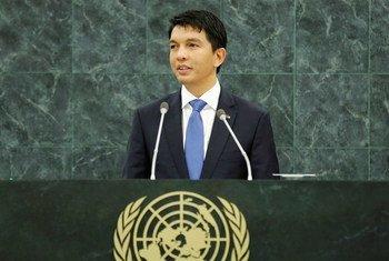 Andry Nirina Rajoelina (ici sur une photo d'archives) a été déclaré vainqueur de l'élection présidentielle 2018 à Madagascar.