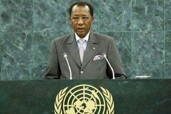 Le Président du Tchad, Idriss Déby Itno.