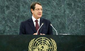 Le Président de Chypre, Nicos Anastasiades.