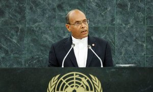 Mohamed Moncef Marzouki, President of the Republic of Tunisia.