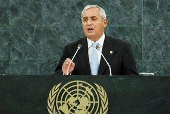 Otto Pérez Molina, ex presidente de Guatemala. Foto de archivo: ONU/Evan Schneider