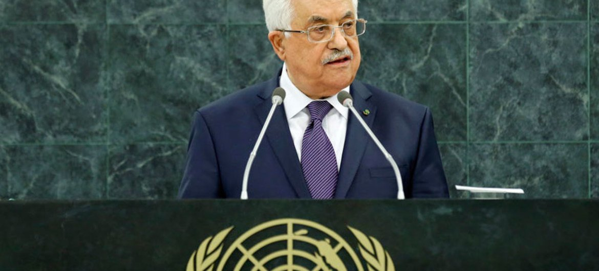 Mahmoud Abbas, President of the State of Palestine.