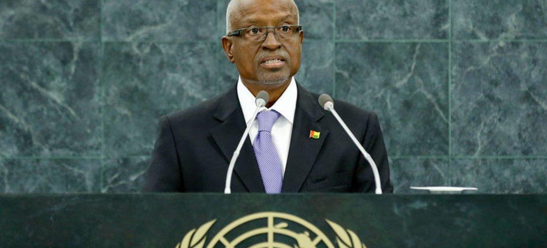 Manuel Serifo Nhamajo, Interim President of the Republic of Guinea-Bissau.