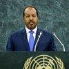 Hassan Sheikh Mohamud, President of Somalia.