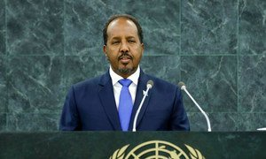 Le Président de la République fédérale de Somalie, Hassan Sheikh Mohamud.