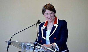 Administrator of the UN Development Programme (UNDP), Helen Clark.