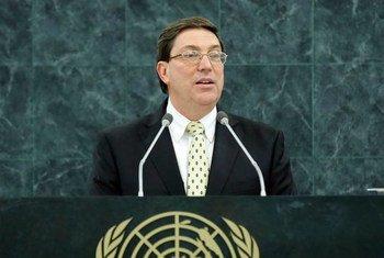El Ministro de Exteriores de Cuba, Bruno Rodriguez   Foto archivo/Paulo Filgueiras