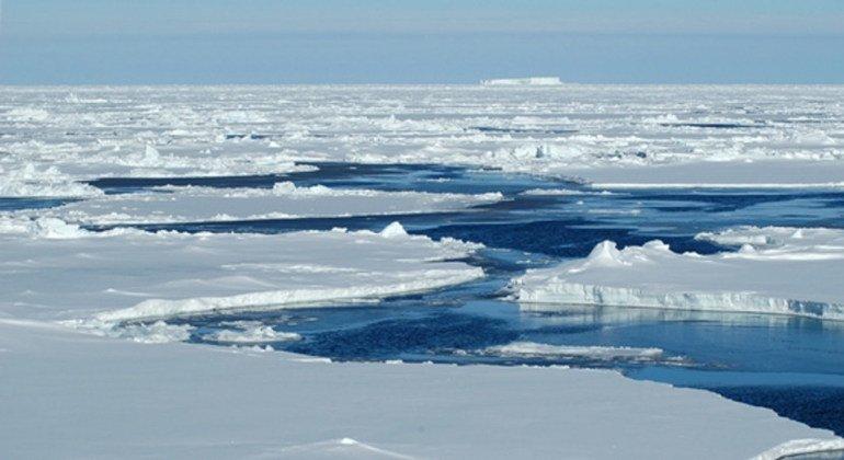 В Арктике изменение климата особенно заметно