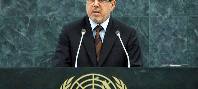 Le Vice-Président de l'Iraq, Khudheir Mussa Al-khuzaie.