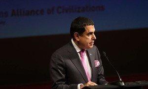 High Representative for the Alliance of Civilizations (UNAOC), Nassir Abdulaziz Al-Nasser.