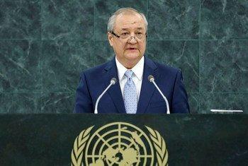 Abdulaziz Kamilov, Minister for Foreign Affairs of Uzbekistan.