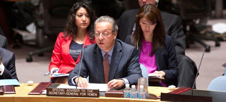 Asesor especial del Secretario General para Yemen, Jamal Benomar Foto